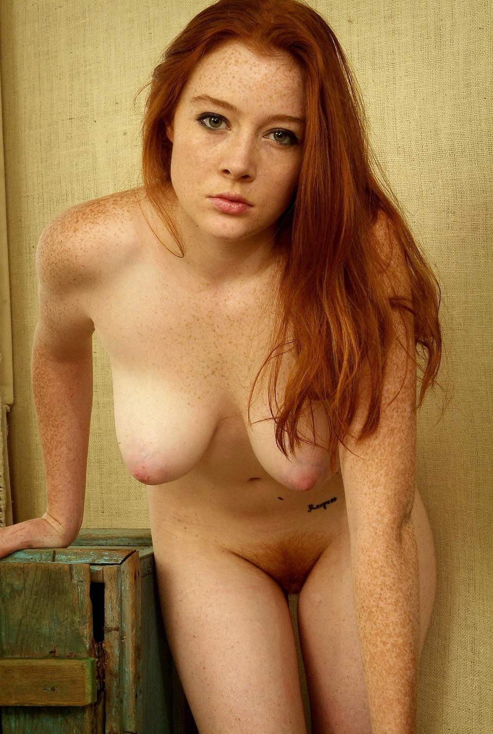 Sexy girls with freckles