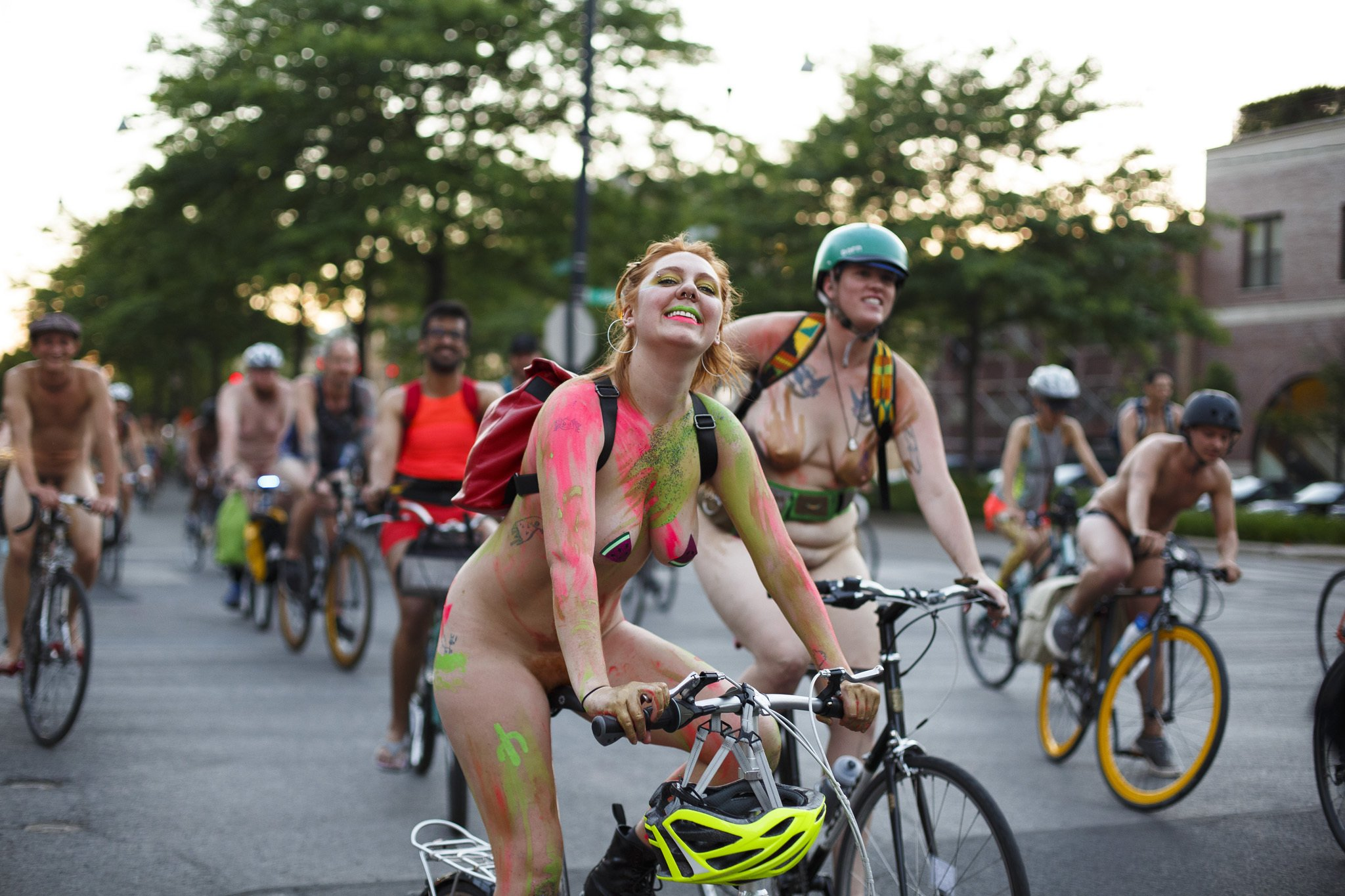 Naked cycling