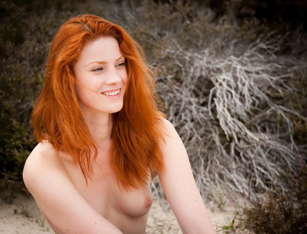 Hot ginger girl