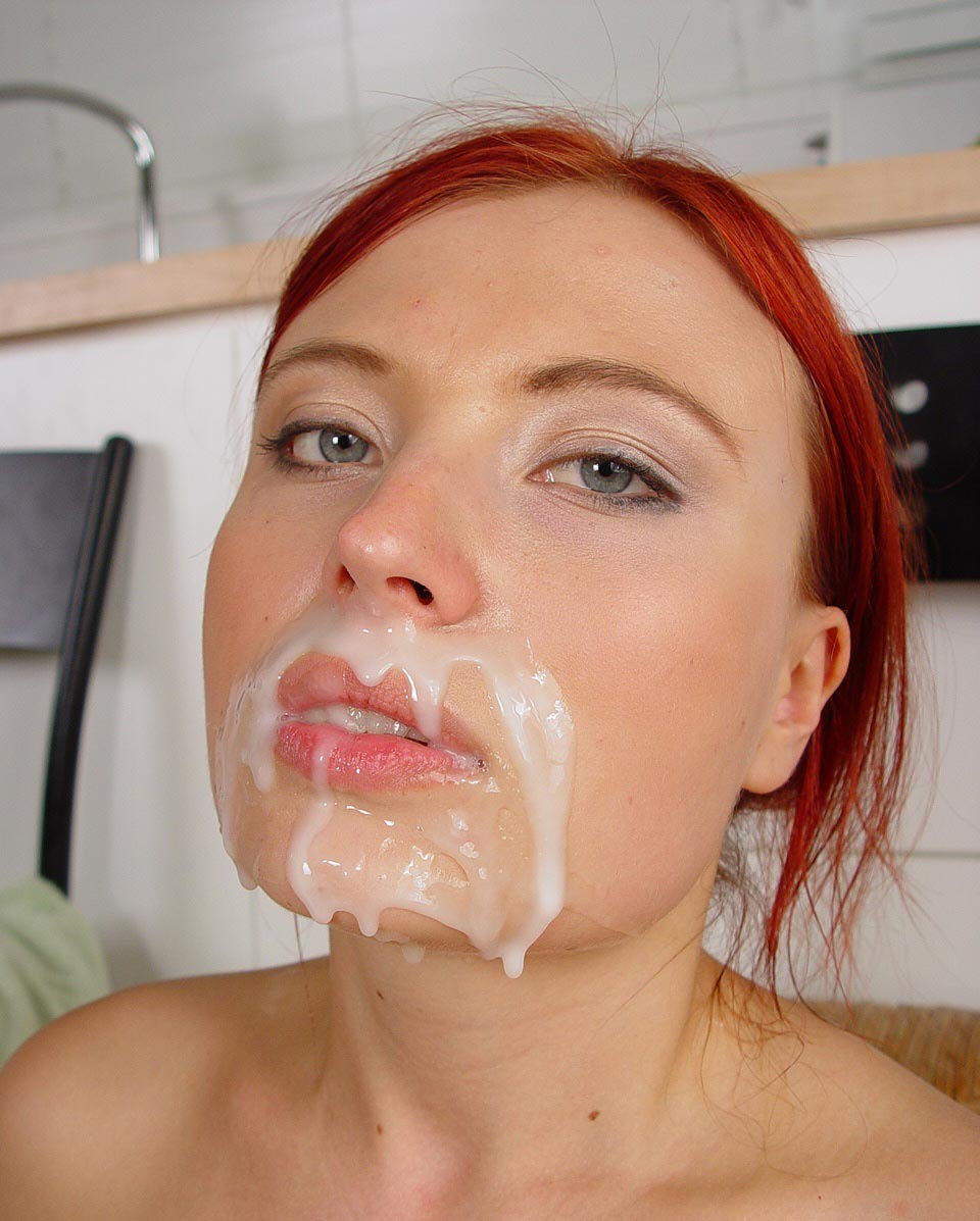 First Cum Facial