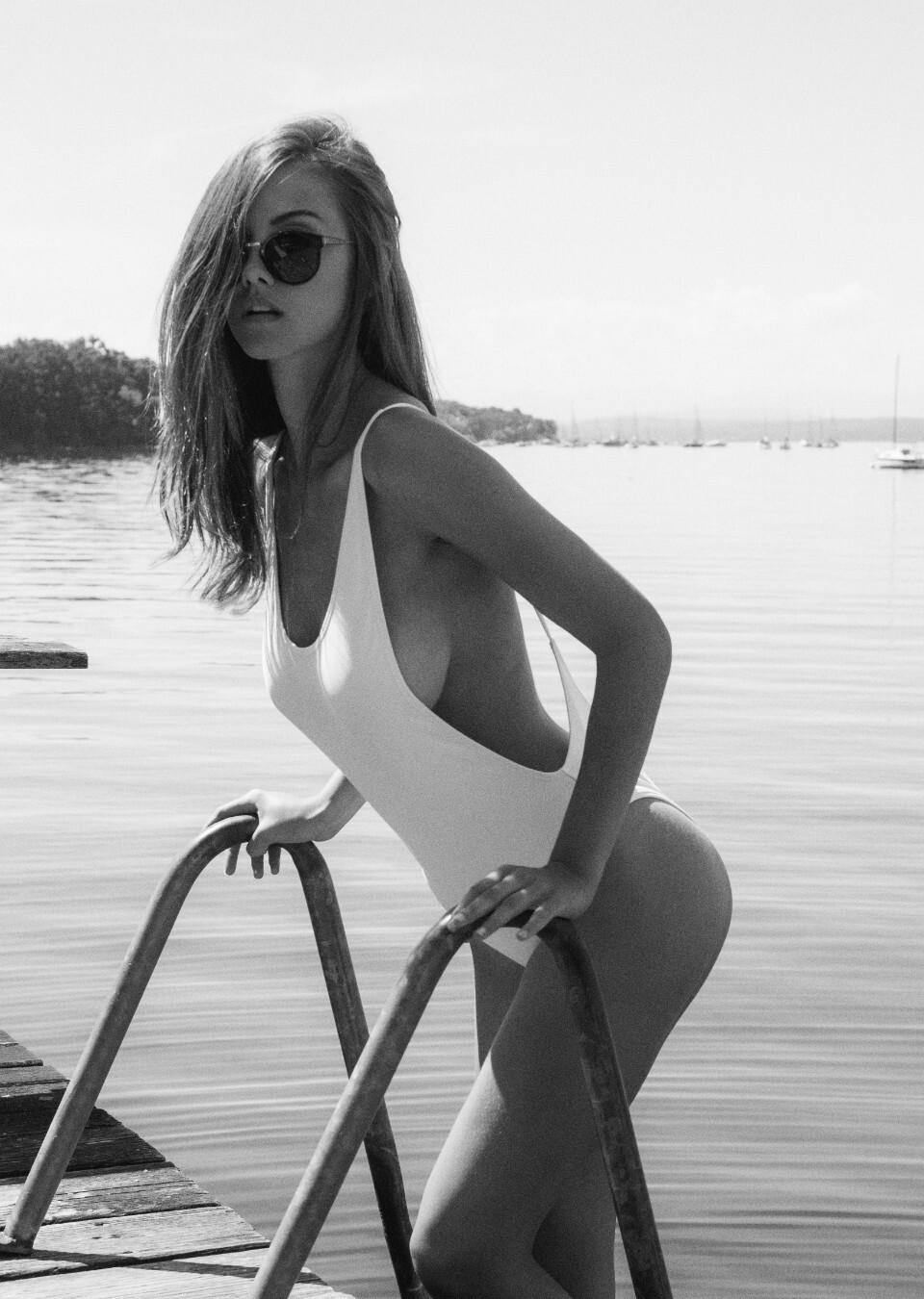 Nina dobrev bares her bra in sexy new photo shoot photo