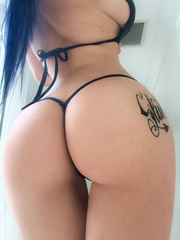 Meggie Ass The Other Vagina J String White