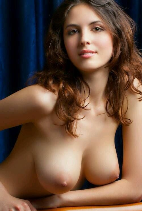 Young woman's breasts