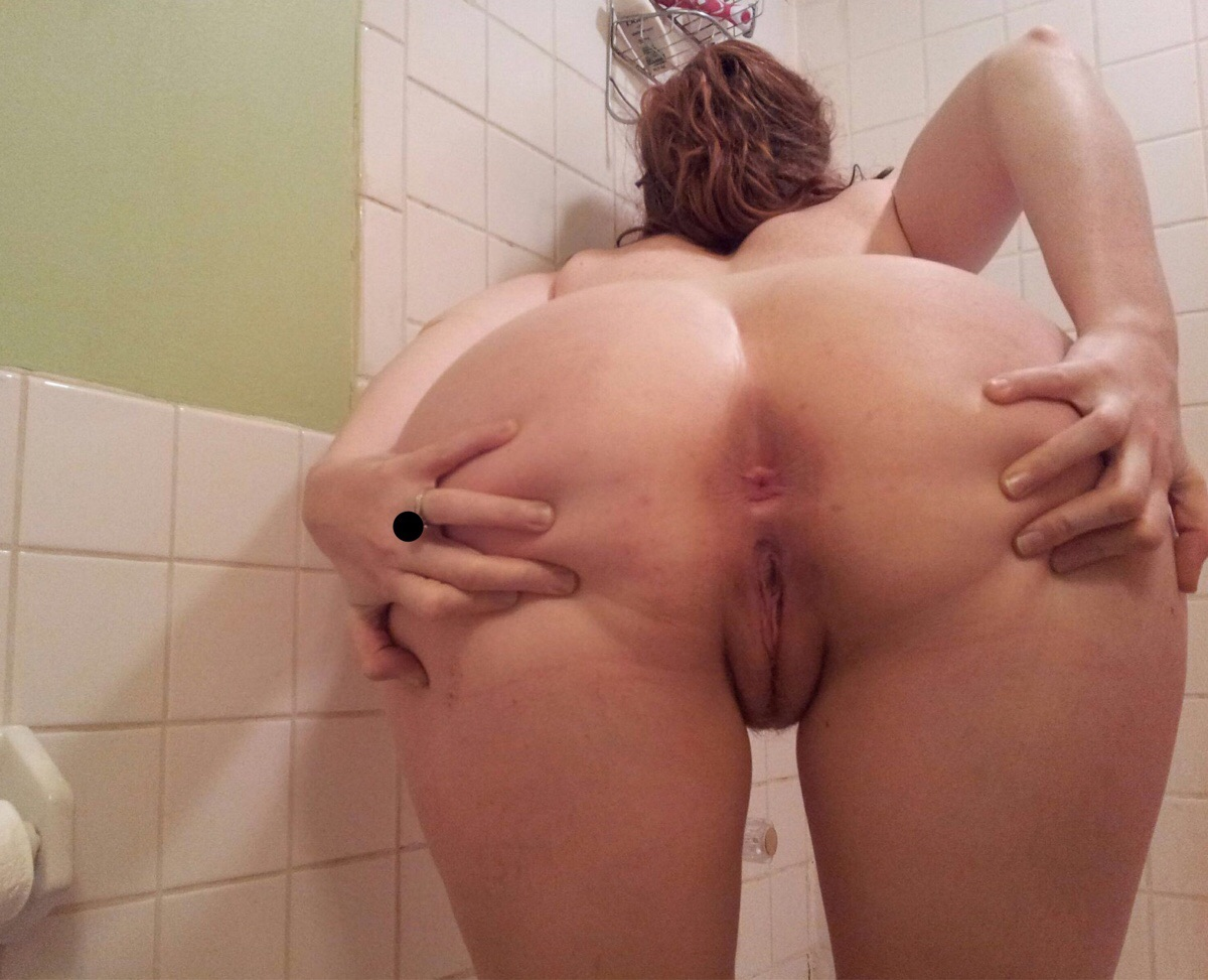 The wife ass my in fucking