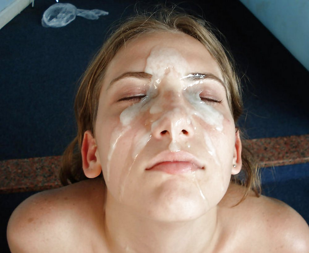 Amateur Slutty Babe Girlfriend Takes Huge Loads Of Cum On Her Face