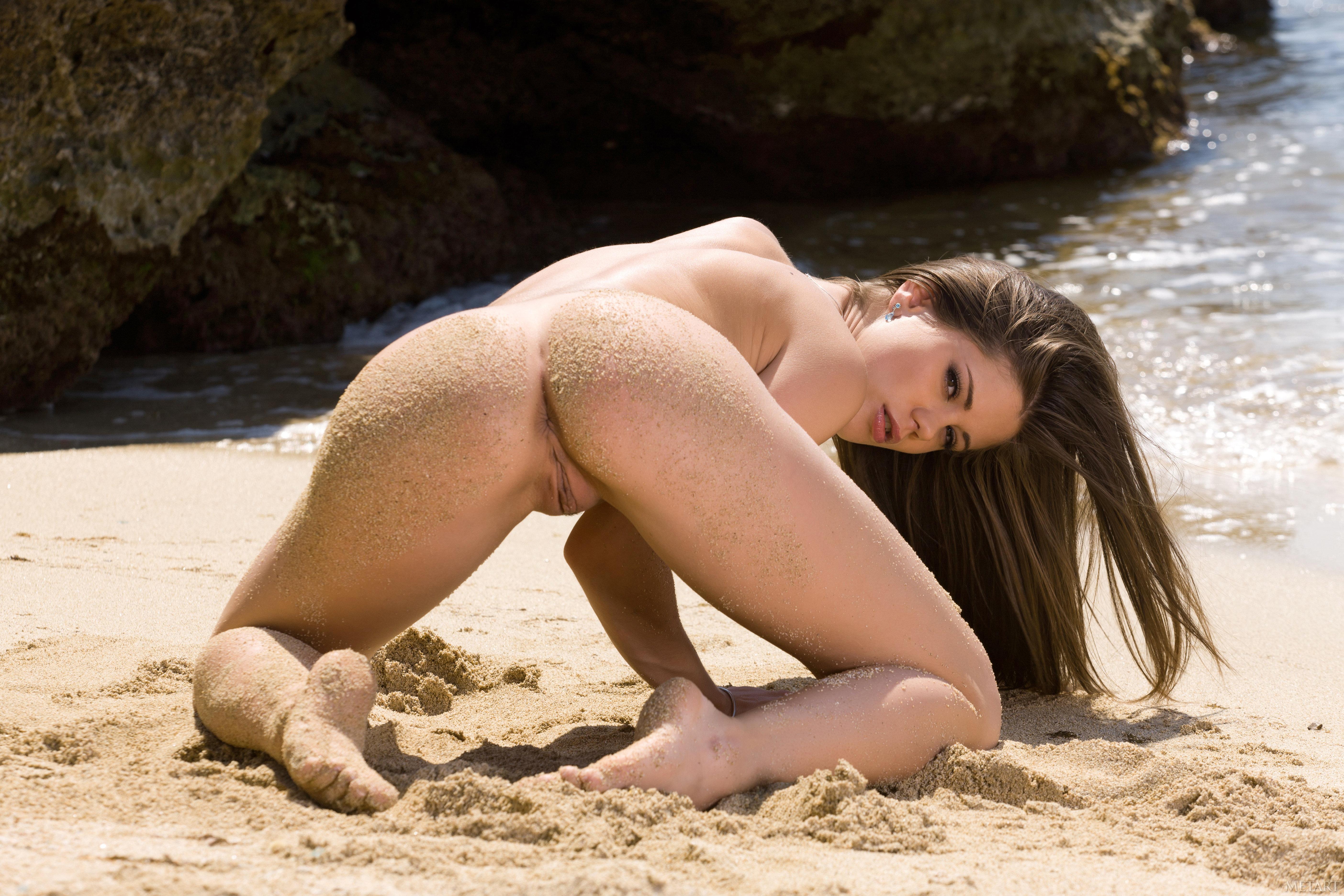 Эротика на пляже в нд 24 фотография