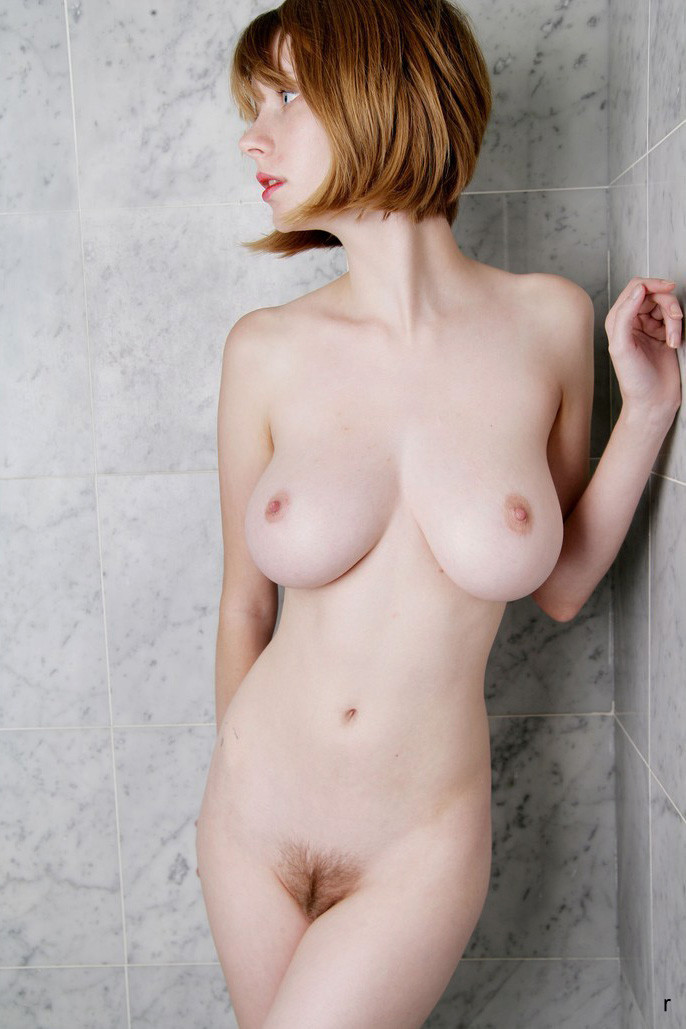 Busty shower pics and naked women boobs