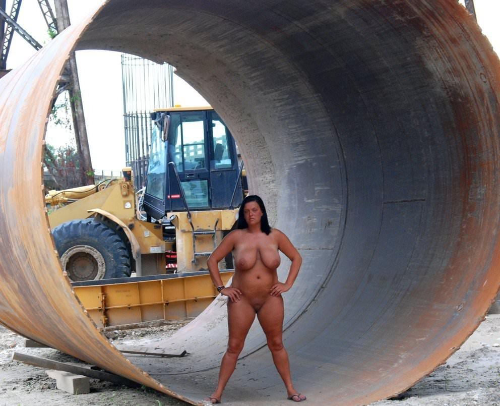 Construction site dare