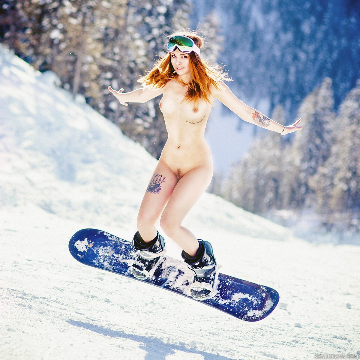 Snowboarding and sex