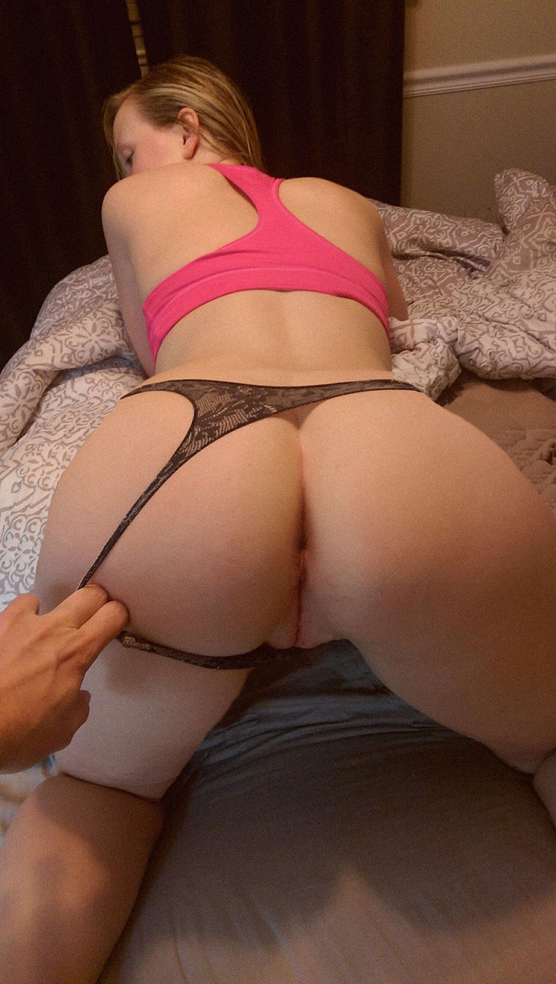 Ass in panties pics