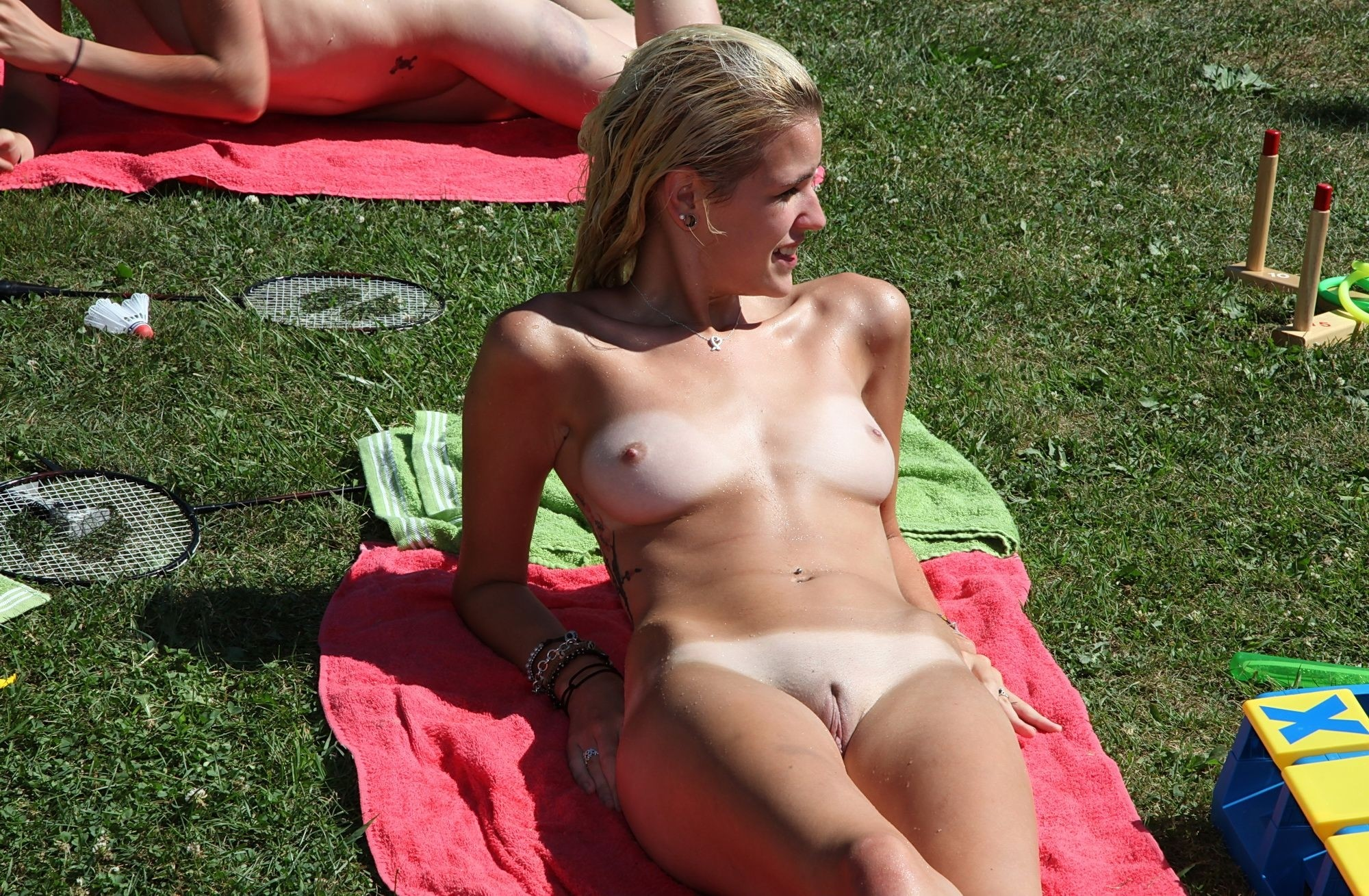 Real amateur public nudity