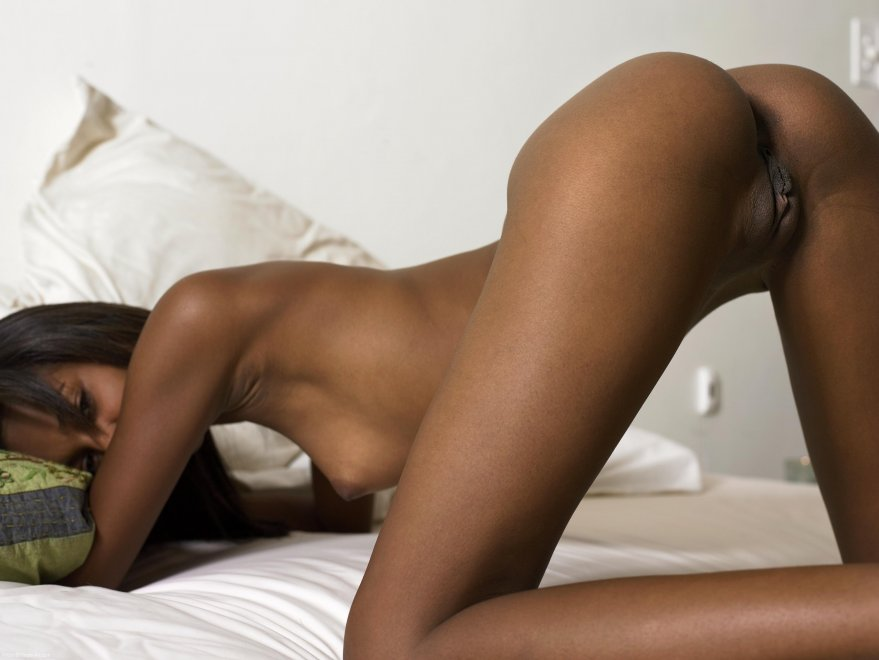 Ebony dark amateur skin