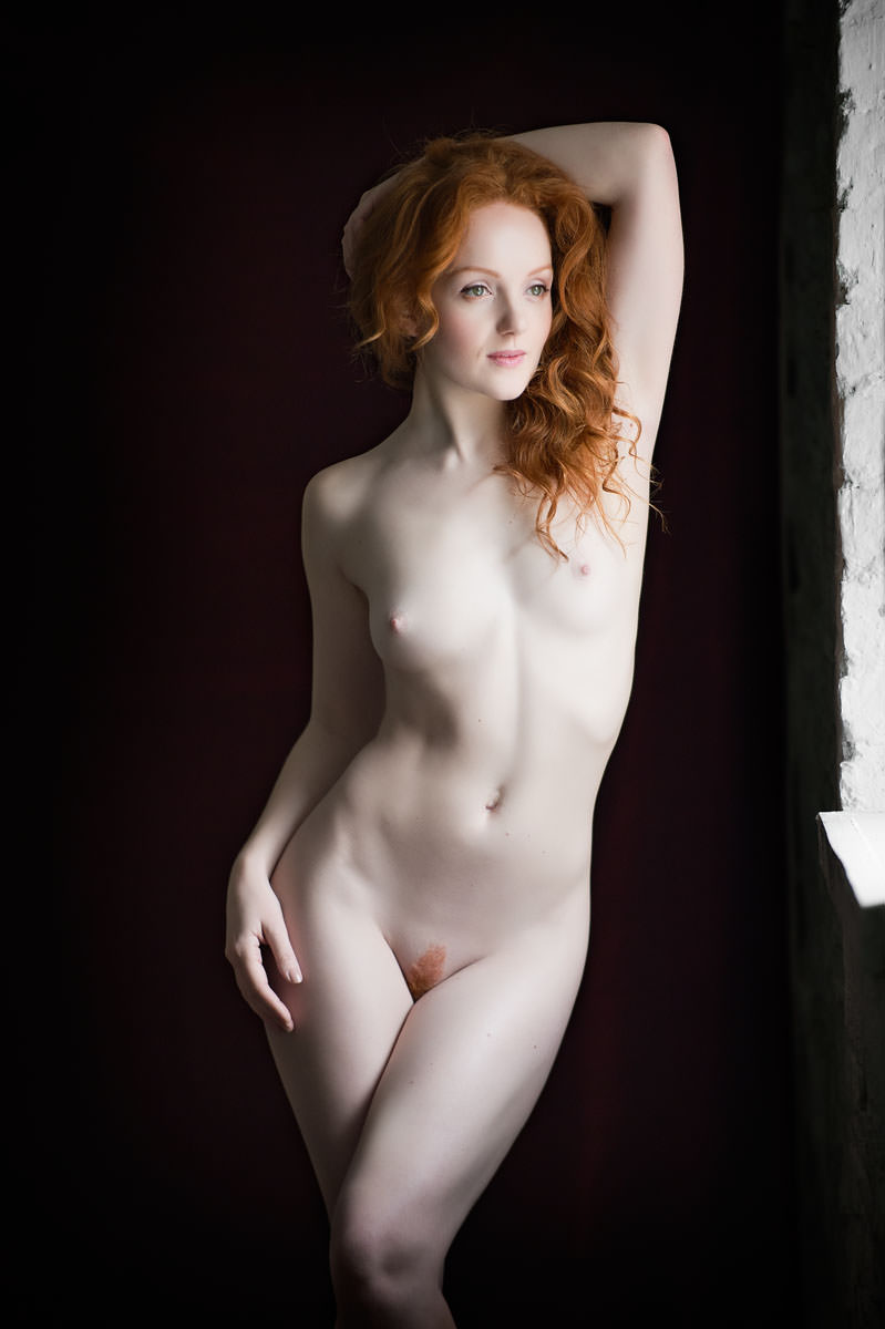 Pale nude young