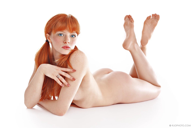 Red headed nude gymnastics