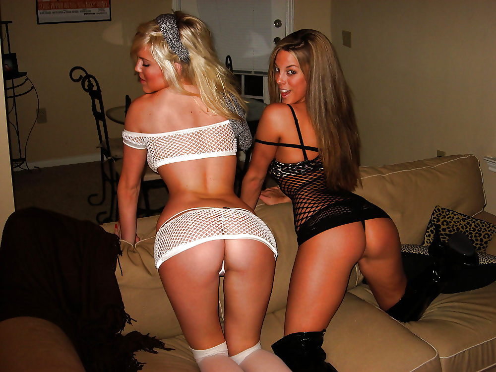 Hot Boobed Girls Showing Her Privates