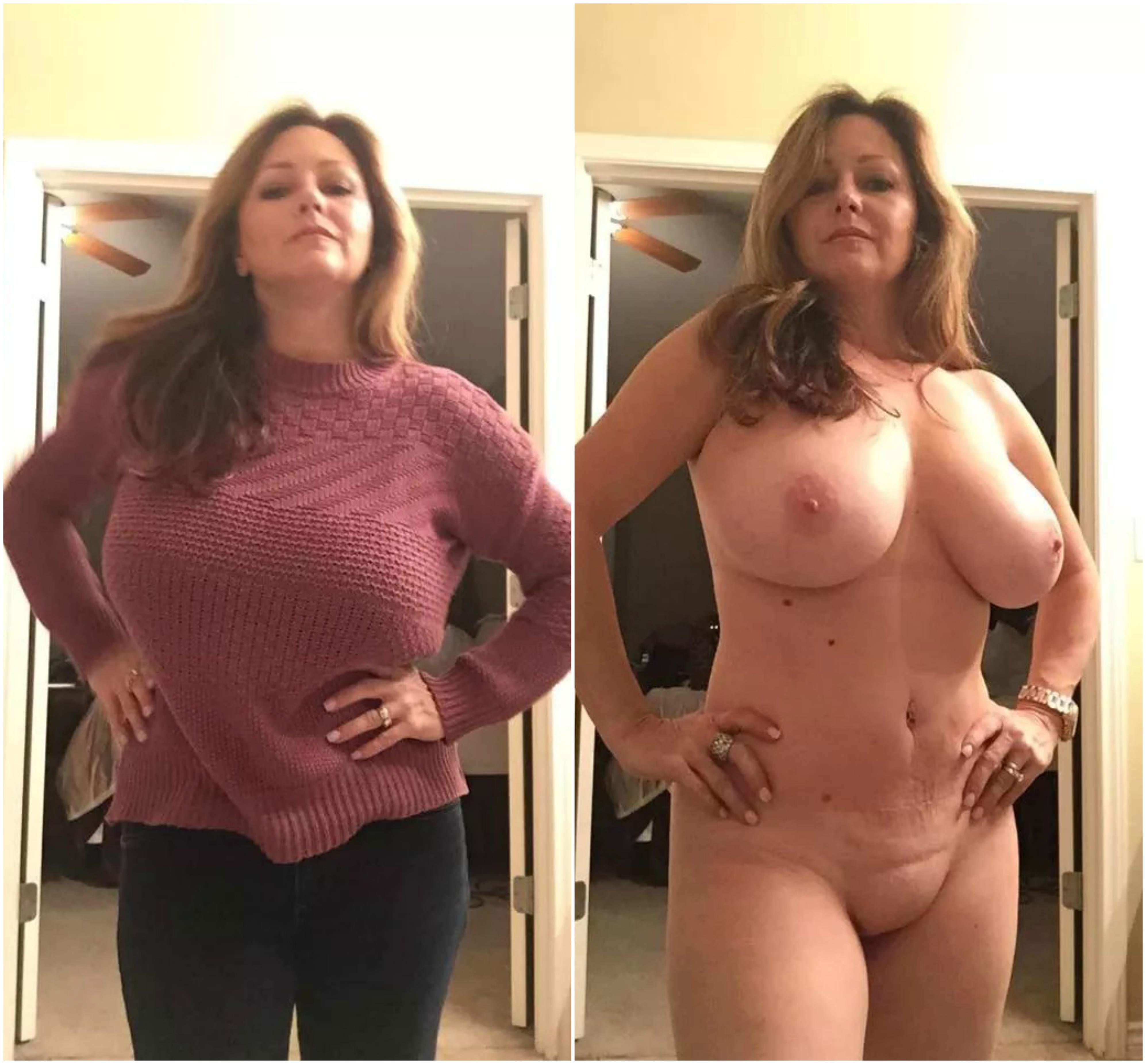 Beautiful Full Figured Mom