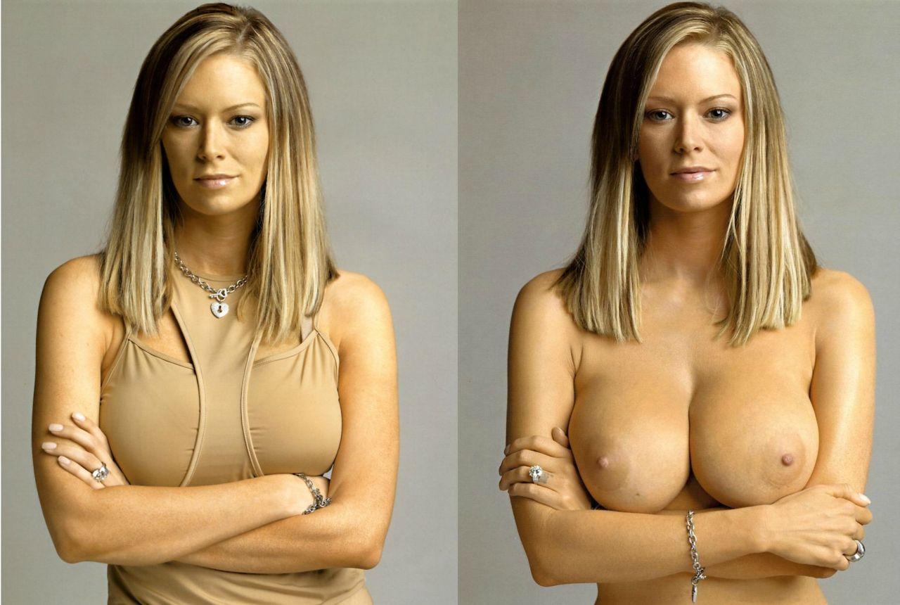 Эротическое фото девушки в одежде и без 7 фотография
