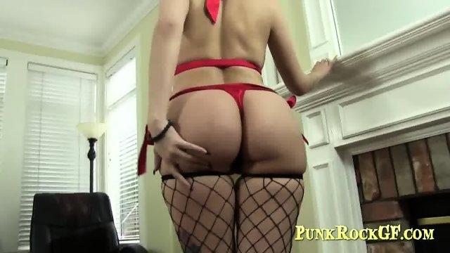 Big tits amateur redhead.