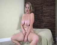 Mommy Plays With Her Huge Tits And Juicy Pussy