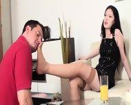 Slaves In Foot Torture By Dominant Ladies