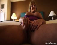 Action With Sperm Eating Mom