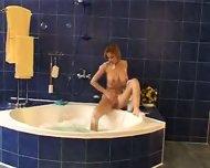 Lenka Gaborova In The Bath