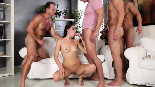 Gruppen szex HD-ben