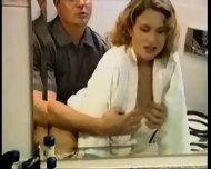 Cassandra Enjoying A Shower